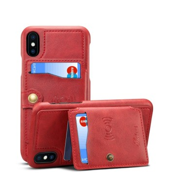 iPhone Xs Max Leather Phone Case With Card Holder