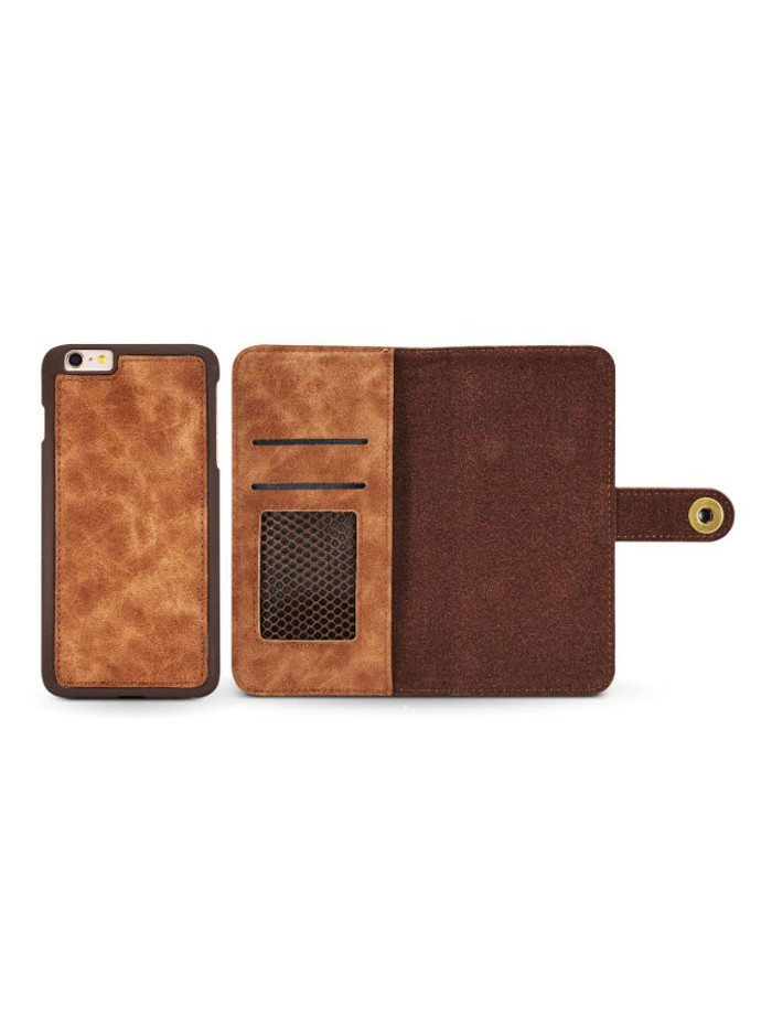 Leather Folio Wallet Phone Case With Card Holder For iPhone Xs Max