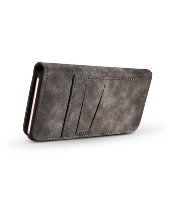 Leather Folio Wallet Phone Case With Card Holder For iPhone XR