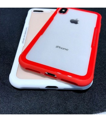 iPhone Xs Max Clear Protective Tempered Glass Case