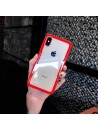 iPhone XR Clear Protective Tempered Glass Case