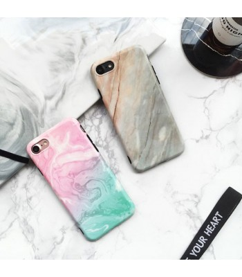 Marble iPhone Xs Protective Phone Case