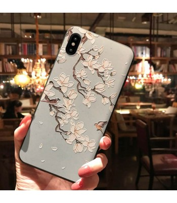 3D iPhone Case For X Series - The Magnolia