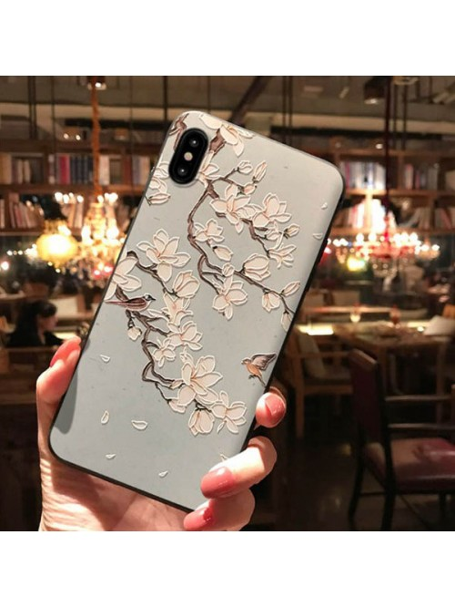 3D Phone Case For iPhone X/Xs/XR - The Magnolia