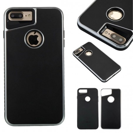 iPhone 6/7/plus Ultra Slim 2 in 1 PC + Metal Protective Case