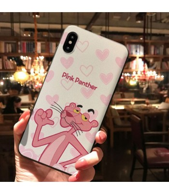 Cute Cartoon iPhone Case For X Series - The Pink  Panther