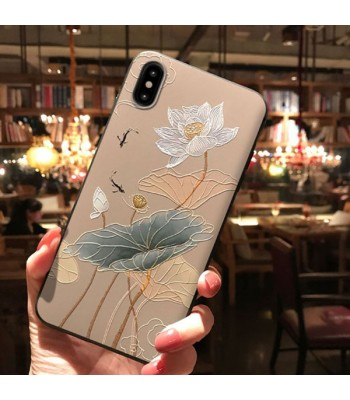 3D iPhone Case For X Series - The Lotus