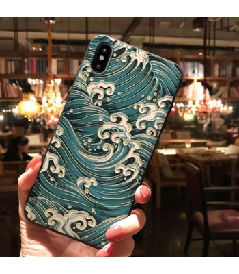 3D iPhone Case For X Series - The Blue Sea