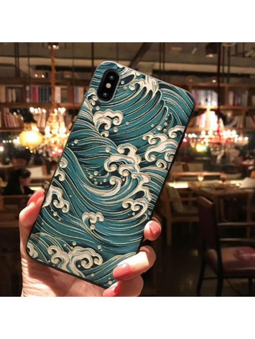 3D Phone Case For iPhone X/Xs/XR - The Blue Sea