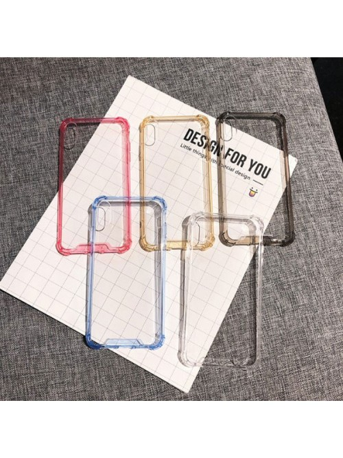 iPhone Xs Clear Shockproof Protective Phone Case
