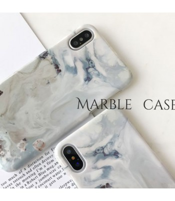 Pristine Hard Marble iPhone Case