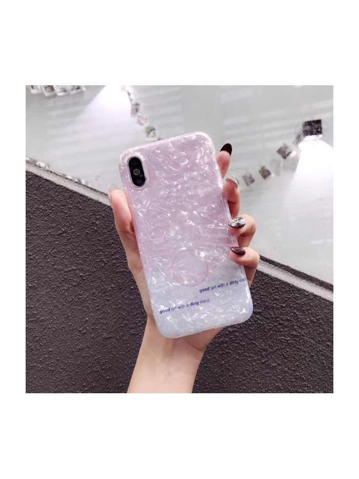 Stylish Pink Shell iPhone Case