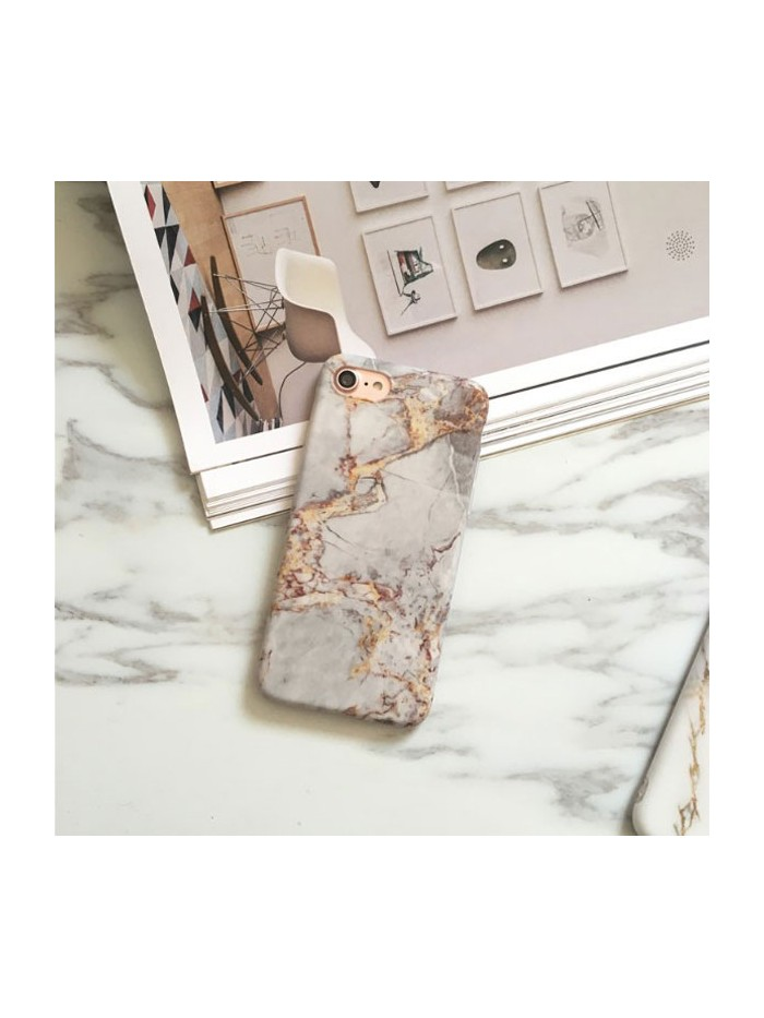Grey Marble Effect iPhone Case