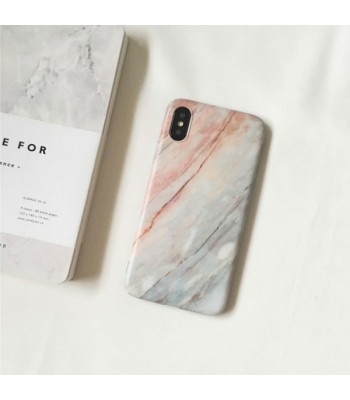 Brown Marble iPhone Case With Finger Grip