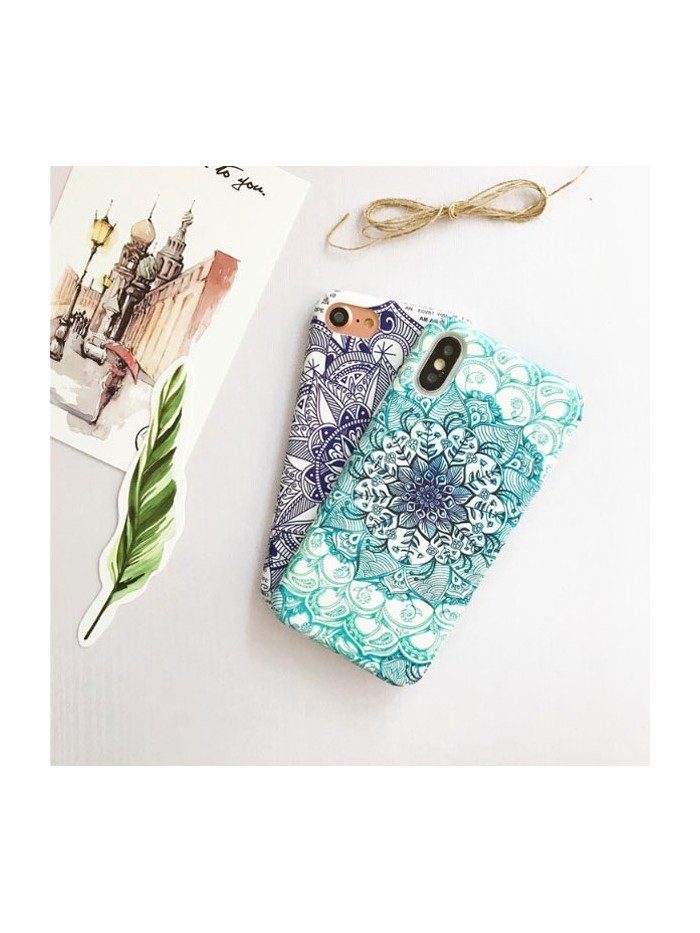 Mandala Texture Relief iPhone Case