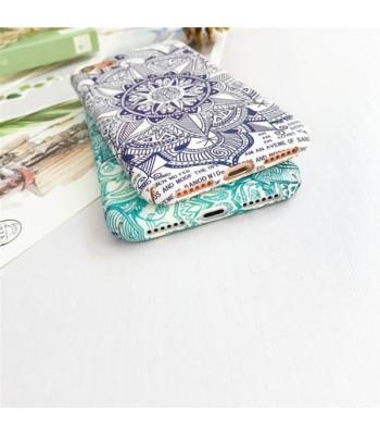 Mandala Texture Relief iPhone Case