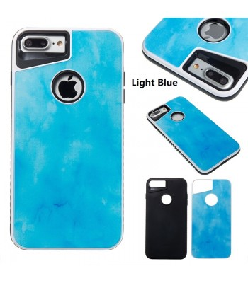 Dual Layer PC+TPU Marble Protective Case for iPhone 6/7/Plus