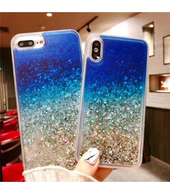 Liquid Quicksand Glitter iPhone Case - The Blue Sea