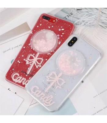 Liquid Quicksand Glitter iPhone Case - The Lollipop