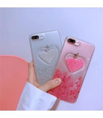 Liquid Quicksand Glitter iPhone Case - The Sweet Heart