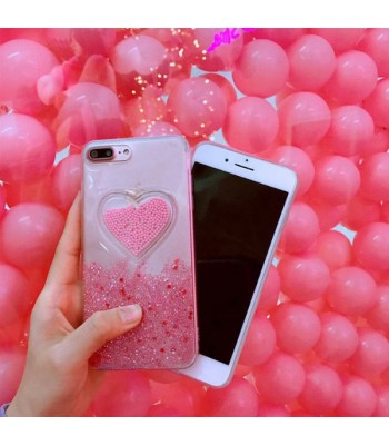 Liquid Quicksand Glitter iPhone Case - The Sweet Heart