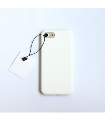 Minimalist Solid Color iPhone Case - Pure White