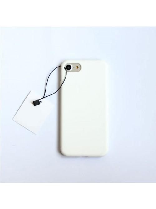 Minimalist Solid Color iPhone Case - Pure White