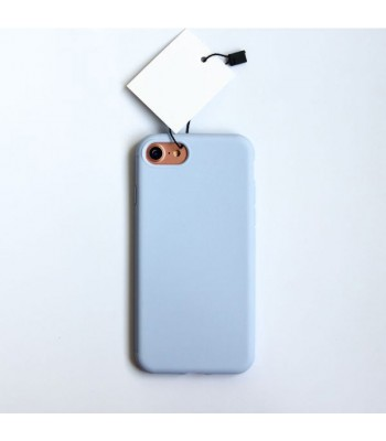 Minimalist Solid Color iPhone Case - Lavender Purple
