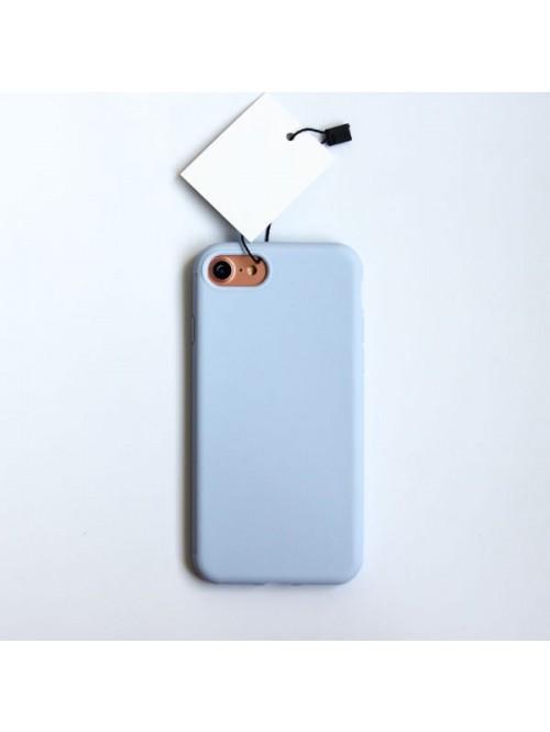 Minimalist Solid Color iPhone Case - Lavender Purple