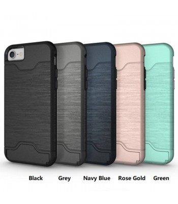 brushed hybrid iphone case