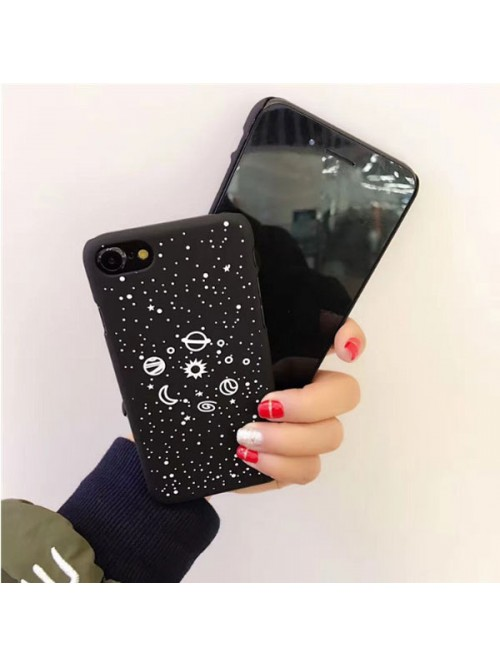Black iPhone Case - Starry Night