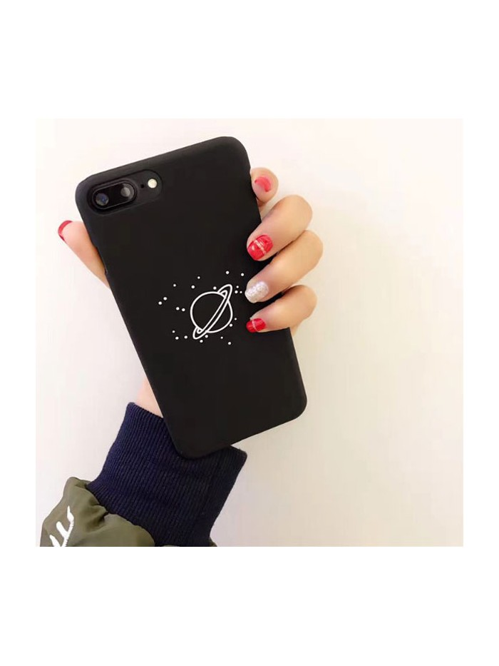 Black iPhone Case - The Earth