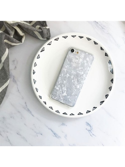 Fantastic Conch Shell iPhone Case - Silvery White