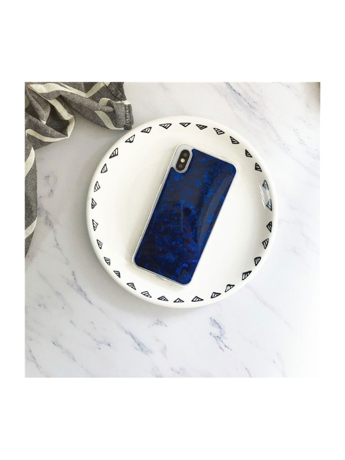 Fantastic Conch Shell iPhone Case - Navy Blue