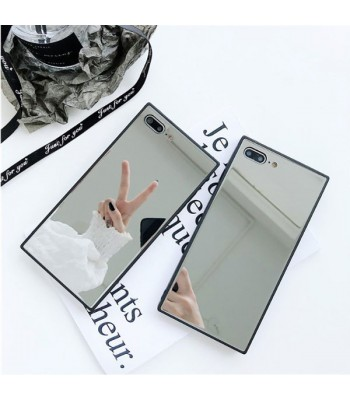 Square Mirror iPhone Case