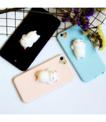 3D Squishy Cat phone Case for iPhone 6/6s Plus