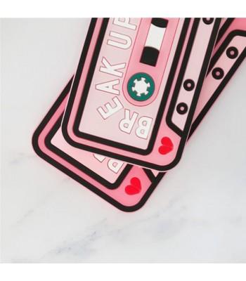 Cute Pink Cassette Tape iPhone Case
