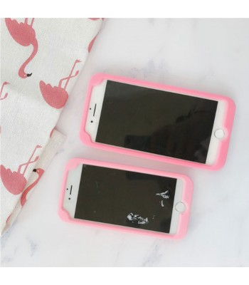 Cute Pink Cassette Tape iPhone Case