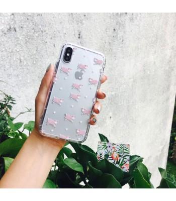 Cute Cartoon Relief iPhone Case - Sheep