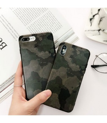 Army Green Camouflage iPhone Case