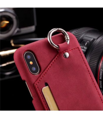 Luxury Leather iPhone Case With Card Holder