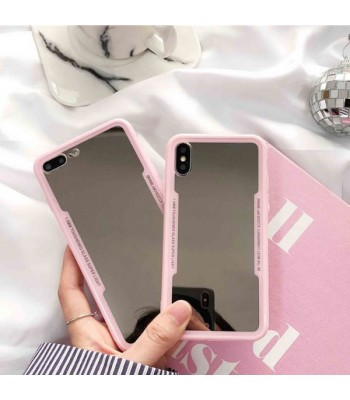 Pink Makeup Mirror iPhone Case For iPhone X Series