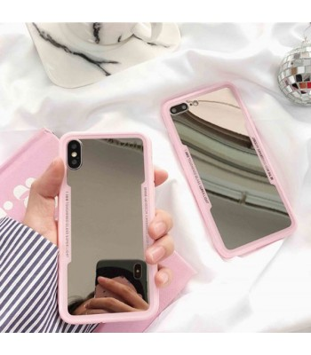 Pink Makeup Mirror iPhone Case
