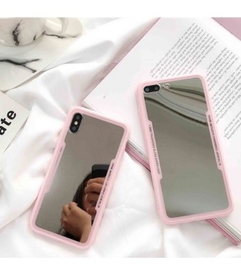 Pink Makeup Mirror iPhone Case