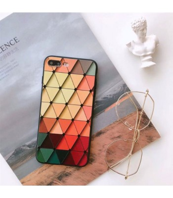 Personalized Geometric Lattice iPhone Case