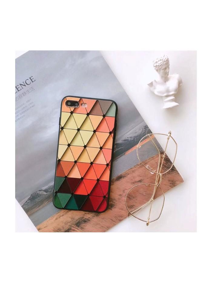 Personalized Geometric Lattice iPhone Case