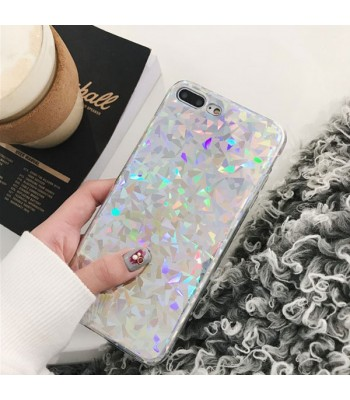 Holographic Diamond iPhone Case