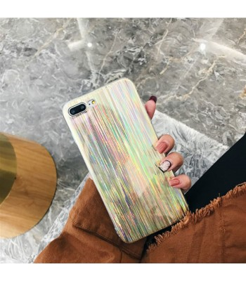 Golden Shooting Star Holographic iPhone Case