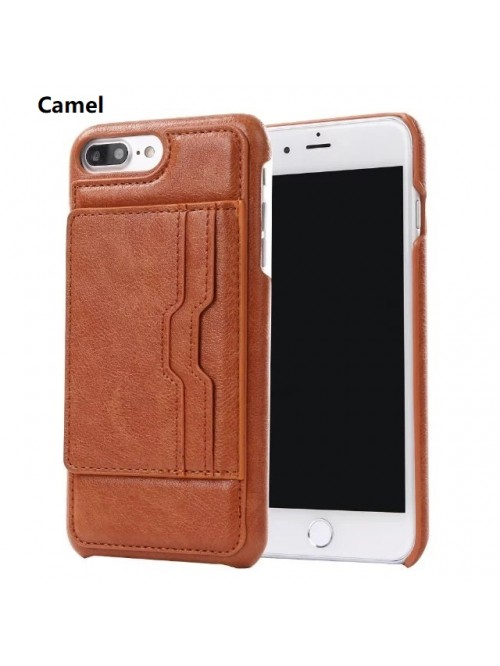 iPhone 6/6s/7/Plus Slim Leather Wallet Card Case
