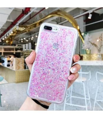 Glitter Powder iPhone Case - Pink